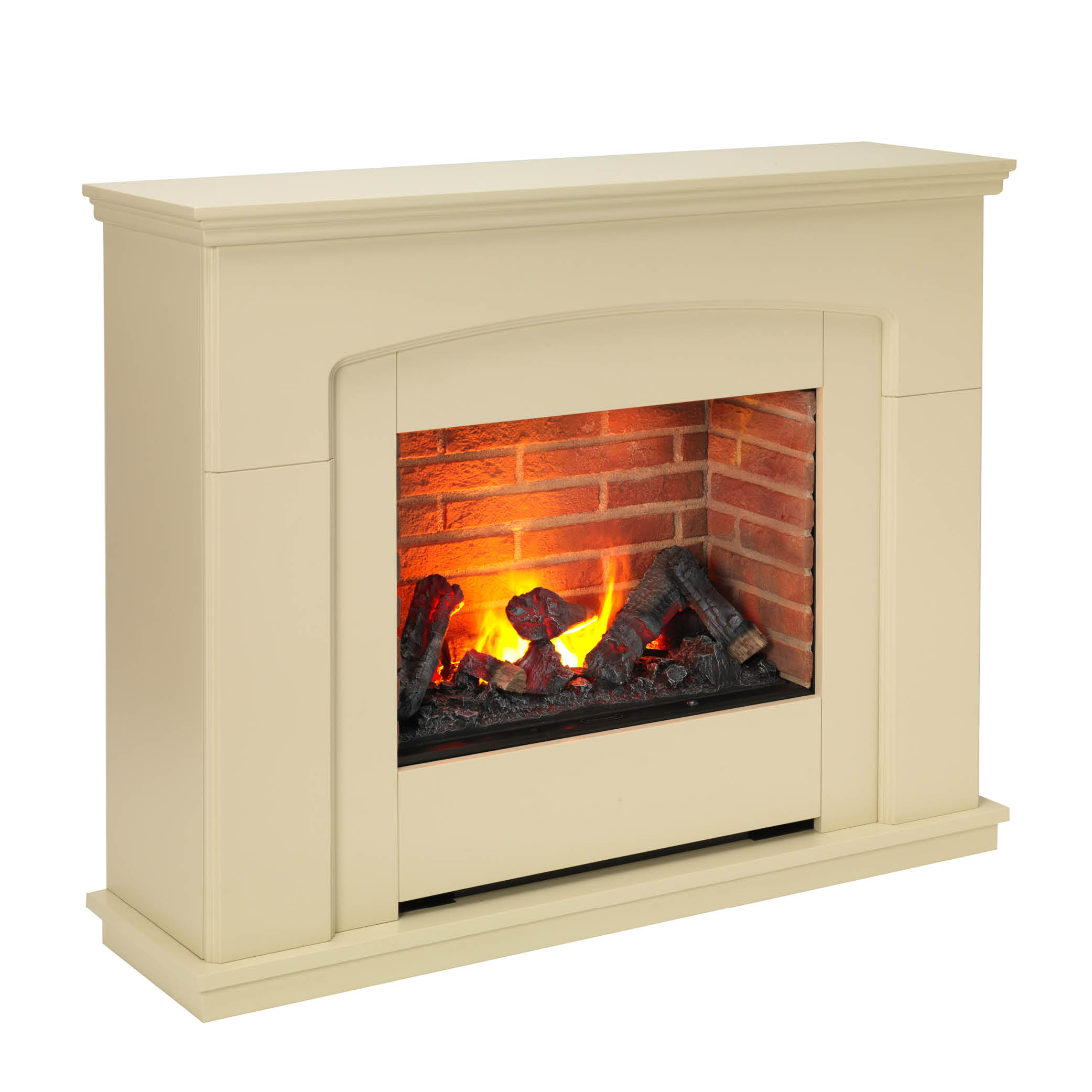Alameda 2kw Optimyst Electric Fire With Mantle Model