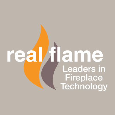 Real-Flame Gas Fireplaces